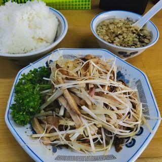 ネギチャーシュー定食(裏メニュー)