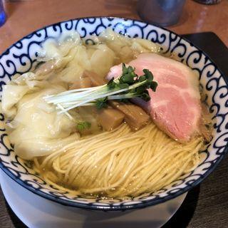 塩煮干わんたん麺(柴崎亭 )