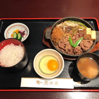 牛鍋定食(荒井屋 万國橋店 )