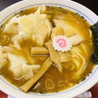 ワンタン麺(大勝軒 小金井 (たいしょうけん))