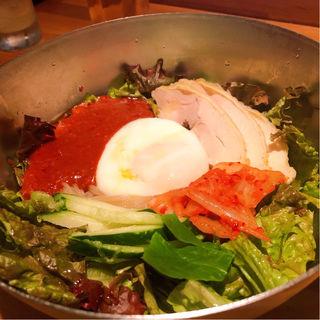 冷麺(ロックストック 大名店)