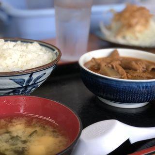 もつ煮定食(永井食堂 (ながいしょくどう))