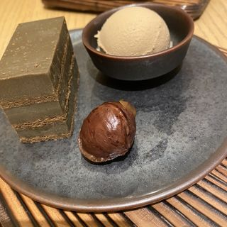 ほうじ茶生チョコレートケーキ(林屋新兵衛 日比谷店)