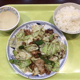 ホイコーロー+ライスセット(北京餃子 )