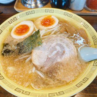味付け玉子麺(江川亭 小金井本店 (えがわてい))