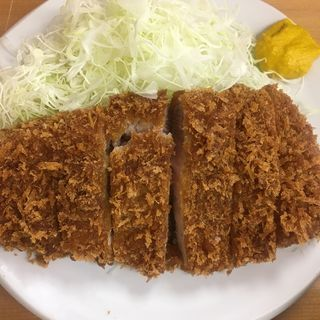ロースカツ定食(いちかつ)