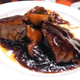 ゴロゴロげんこつ豚肉の酢豚(糖醋肉)(永利 池袋本店 (エイリ))