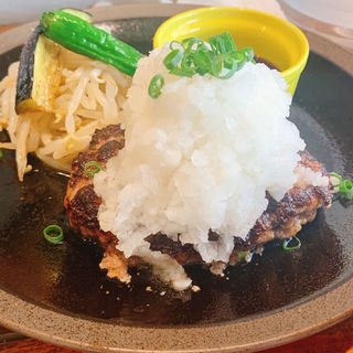 鬼おろしポン酢ハンバーグ(山本のハンバーグ 六本松店)