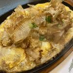 豆腐ステーキ(田舎茶屋)