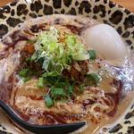 大人の担担麺 (白湯ver.)