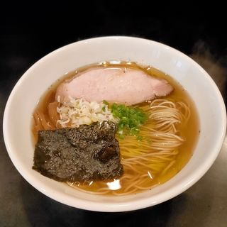 朝ラーメン(麺屋 熊胆(ゆうたん))