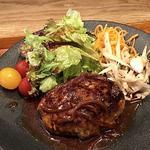 国産豚100% ルボ飯オリジナルハンバーグ  定食