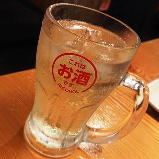 沖縄パイン(ソーダ割)(鳥貴族 京急川崎2号店)