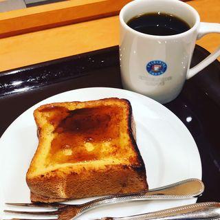 厚切りフレンチトースト(エクセルシオール カフェ新お茶の水店 )
