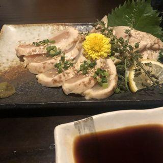 京地鶏のたたき