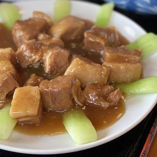 豚の角煮定食(台湾料理鮮味館 SBC通り店 )