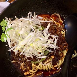 汁なし担々麺(天神ササラ)