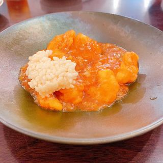 海老のチリソース煮(中華Dining 昌華)
