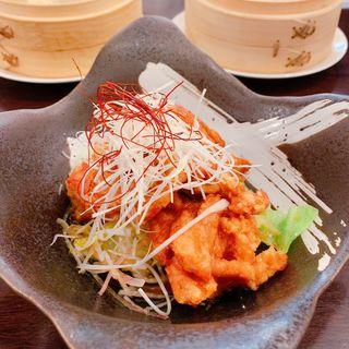丹波鶏の唐揚げ 特製香味ソース(中華Dining 昌華)