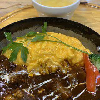 蔵王うみたて卵の煮込みビーフシチュー(たまご舎 蔵王本店 (タマゴヤ))