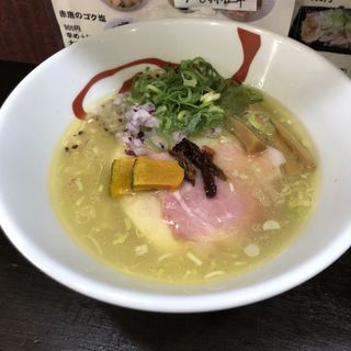コク塩ラーメン 限定20食(麺や魁星)