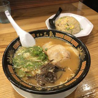 半チャーハンセット(博多三氣 松島原田店 (ハカタサンキ))