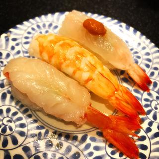 海老3種盛り(ぎょしん 自由が丘店 (魚臣))