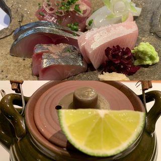 松茸の土瓶蒸し(さくらい )