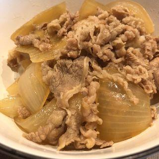 牛丼(焼肉 バンバミート)