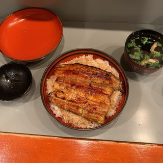 上うな丼(市松)