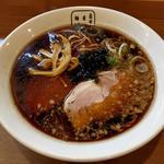 東仙台ブラックラーメン(細麺)