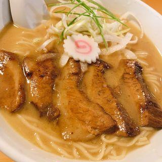 ネギトロチャーシュー麺(花の季 (はなのき))