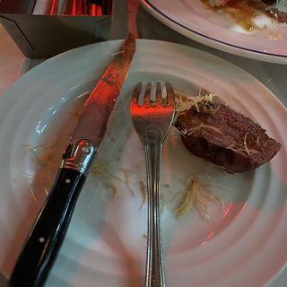 グラスフェッドビーフのフィレステーキ