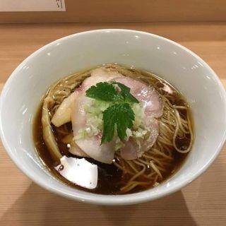 らぁ麺(麺匠 一粒万倍)