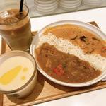カレーとスープのセット