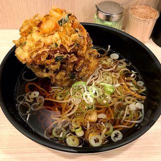 かき揚げ蕎麦(吉利庵 )