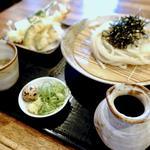 天ぷらざるうどん(うどんばか平成製麺所 )