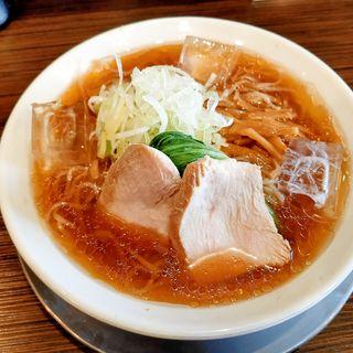 冷やしラーメン(醤油)(麺匠ぼんてん )