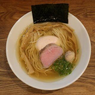 地鶏塩(自家製麺純)