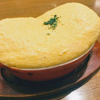 スフレ卵のオムライス(卵と私 渋谷八番街店 )