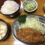 トンカツ定食(とんかつ 万平 (とんかつ・まんぺい))