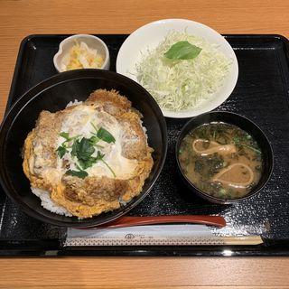 黒豚ロースかつ丼(とんかつ まい泉 池袋西武 )