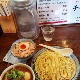 特製つけ麺(らーめん 三福)