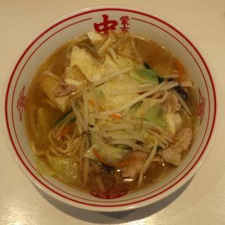 味噌タンメン(蒙古タンメン中本 秋津店 (もうこたんめんなかもと))