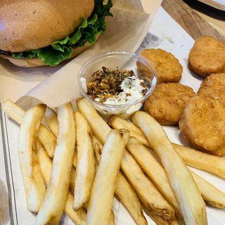 BLTバーガーセット(The 3rd Burger 竹芝)