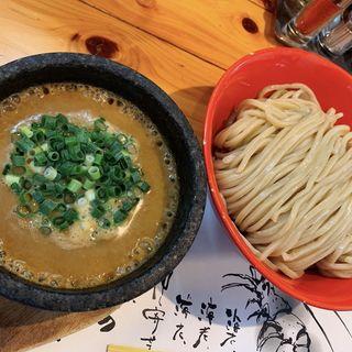 ウニのつけ麺大盛り(甲殻堂 (コウカクドウ))