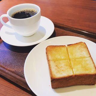 厚切りバタートースト(上島珈琲店  成城店 )