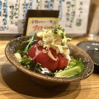 ガリとトマトのサラダ(おばんざいカエル )