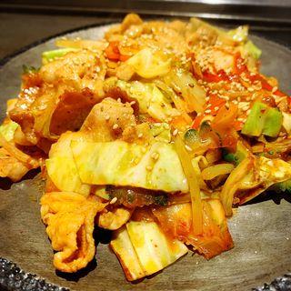 豚キムチ炒め(お好み焼きロック )