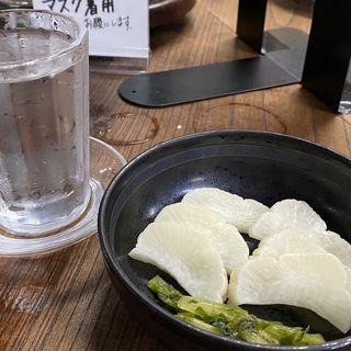 漬物(大衆酒場斎藤)